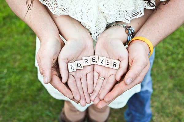 Foreverと書かれた画像